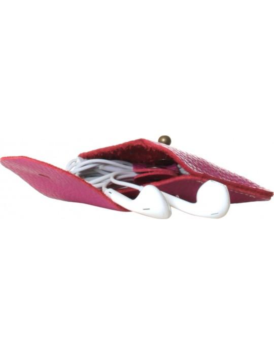 Чехол для наушников красныйPoint Универсальный Clip розовый