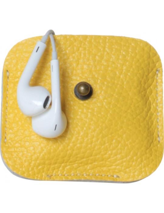 Чехол для наушников красныйPoint Универсальный Clip желтый