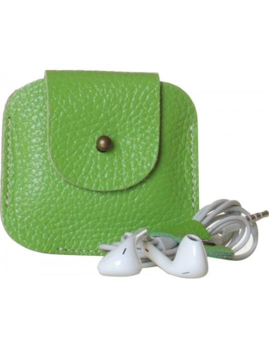 Чехол для наушников красныйPoint Универсальный Clip зеленый