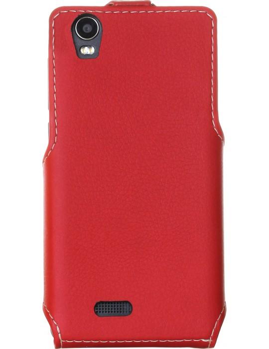 Чехол RedPoint Flip Case для Prestigio MultiPhone Wize N3 3507/MultiPhone Wize NX3 3517/MultiPhone Wize NK3 3527 красный