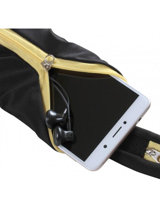 Спортивный пояс для телефона RedPoint Elastic Sport Belt желтый