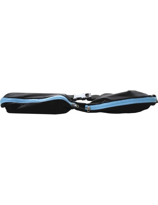 Спортивный пояс для телефона RedPoint Elastic Sport Belt голубой