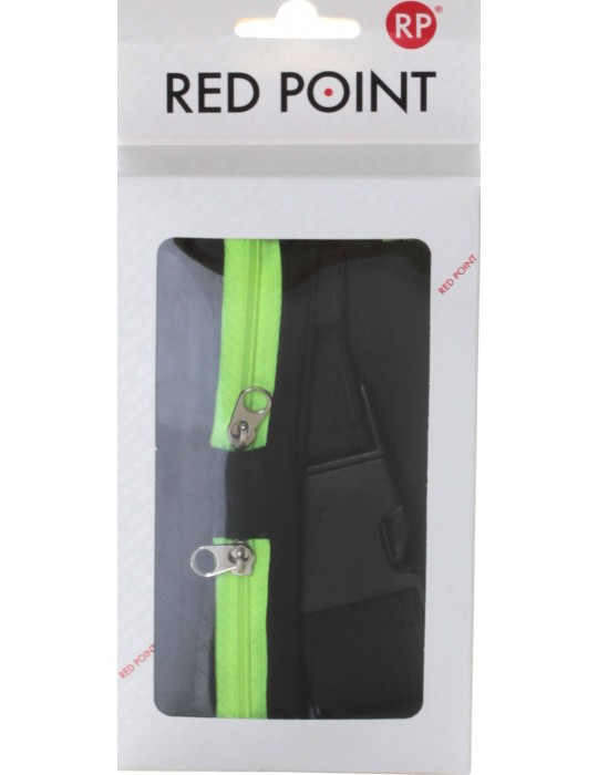 Спортивный пояс для телефона RedPoint Elastic Sport Belt Lite зелёный