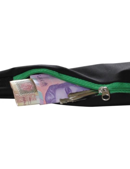 Спортивный пояс для телефона RedPoint Elastic Sport Belt зелёный